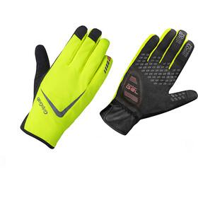 GripGrab Cloudburst Waterproof Hi-Vis Gloves Fluo Yellow